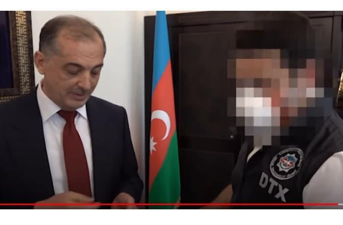 DTX-nin İmişli rayonunda həyata keçirdiyi əməliyyatın videosu